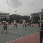 UCC and UEW Volleyball Women Teams In Action
