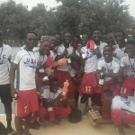 The Victorious UCC Soccer Men Team Pose in Jubilant Style