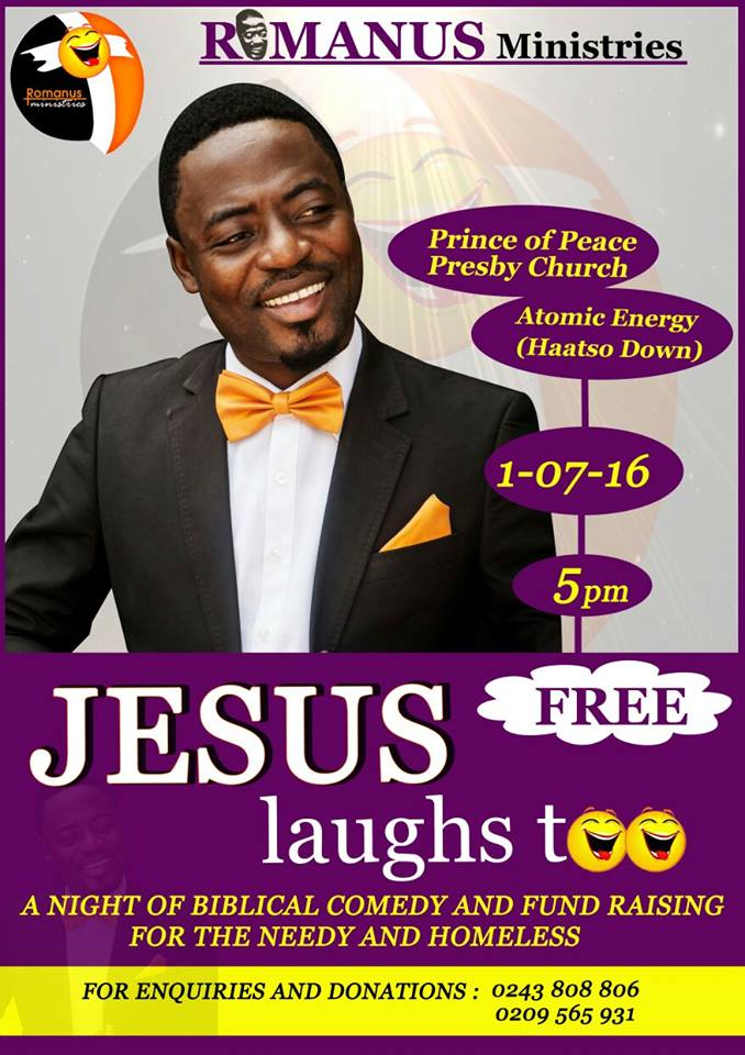 Rev. Dr. Foster Romanus Promises A Night of Healing Dubbed <strong>Jesus Laughs Too</strong>