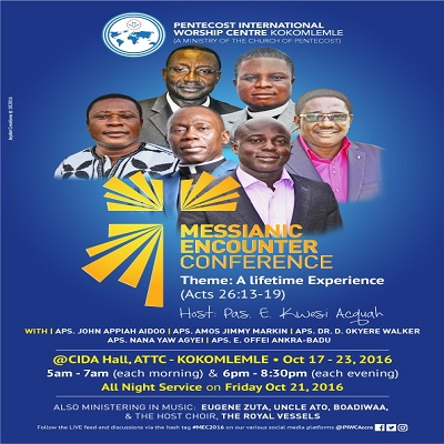 Messianic Encounter Conference 2016